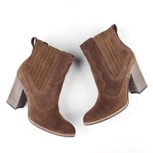 Dolce Vita Conway Western Ankle Boots / Booties